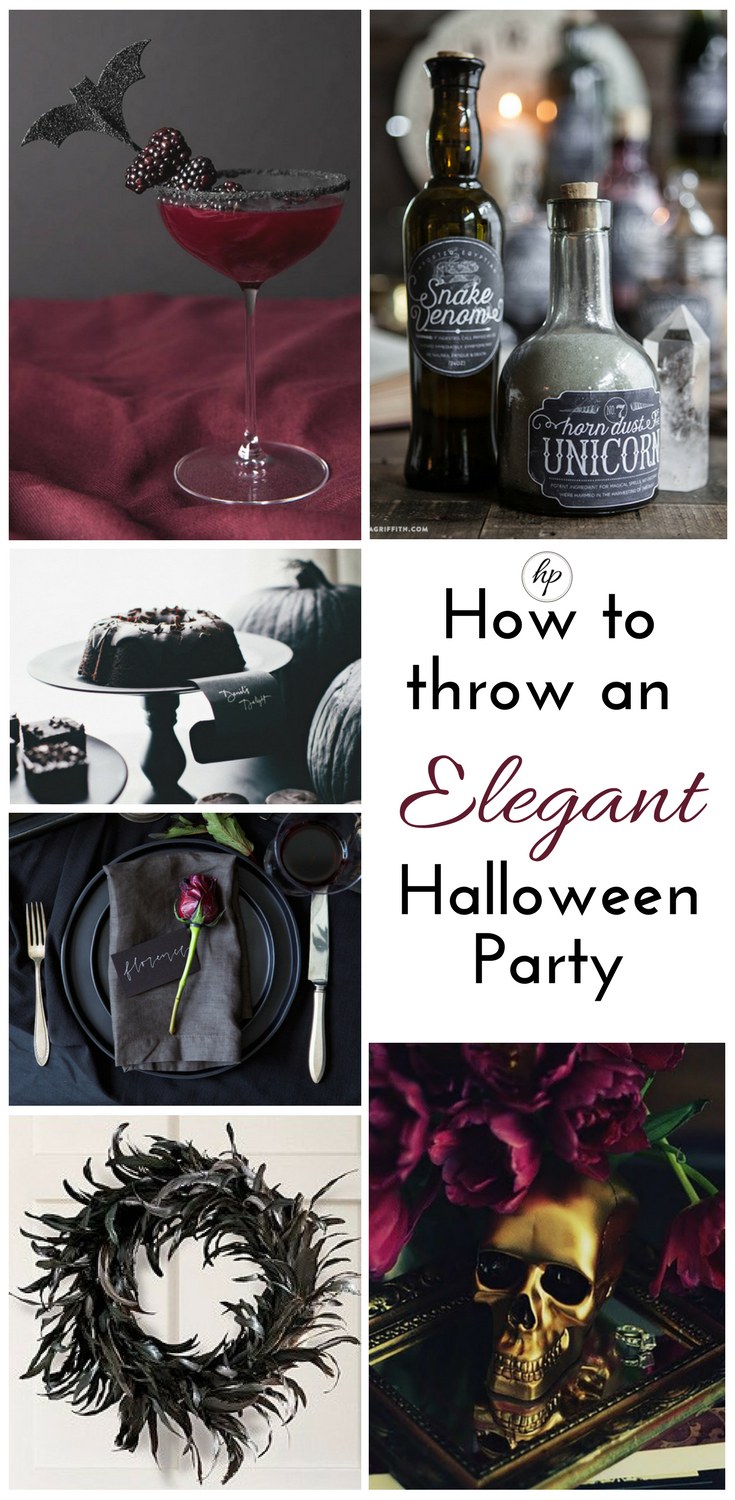 How To Throw An Elegant Halloween Party